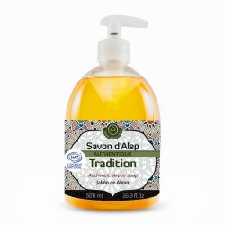 Savon d'Alep Liquide Authentique Tradition 500mL