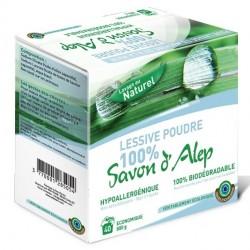 Lessive de savon d'Alep en poudre
