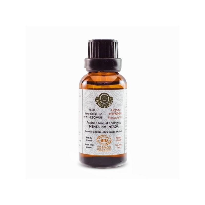 Huile essentielle de menthe poivrée BIO 30 ml