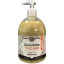 Savon d'Alep Liquide Premium Tradition 1% Laurier - Bio - 500mL