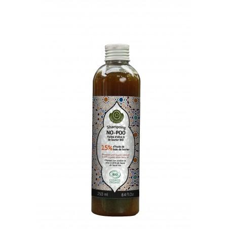 Shampoing No-Poo 15% Laurier - Bio - 250mL