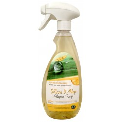 Spray Multi-Surfaces au Savon d'Alep Citron 500mL