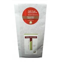 Argile rouge Montmorillonite en sachet